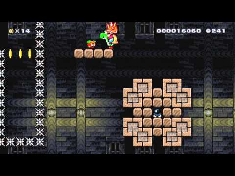This Super Mario Maker level is the work of a monster
