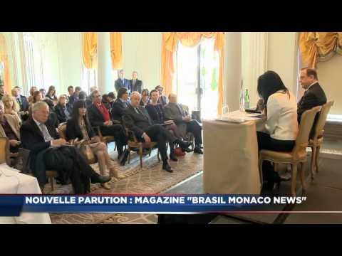 Lancement du magazine « Brasil Monaco News »