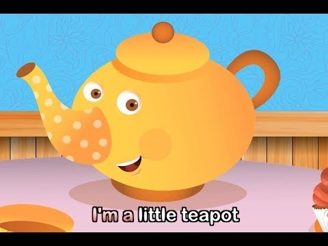 I'm a Little Teapot - Nursery Rhyme with lyrics
