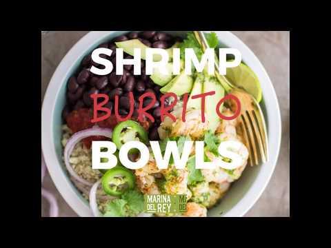Shrimp Burrito Bowls