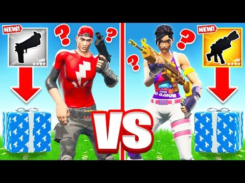 *RANDOM* PRESENTS For LOOT in Fortnite Battle Royale