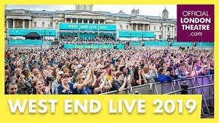 West End LIVE 2019: The Knights performance
