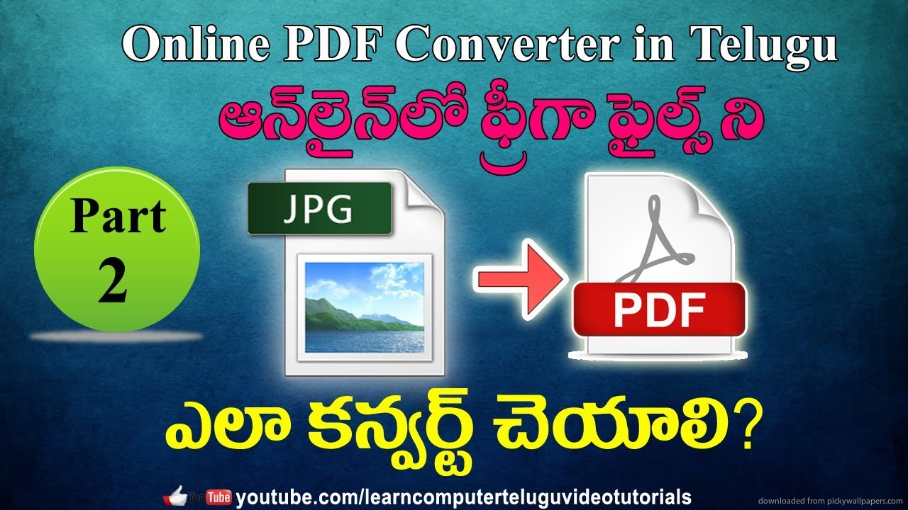 Convert images in multiple formats to JPG in seconds