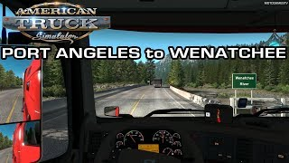 ATS - Driving from Port Angeles to Wenatchee (Washington State) [4K 60FPS]