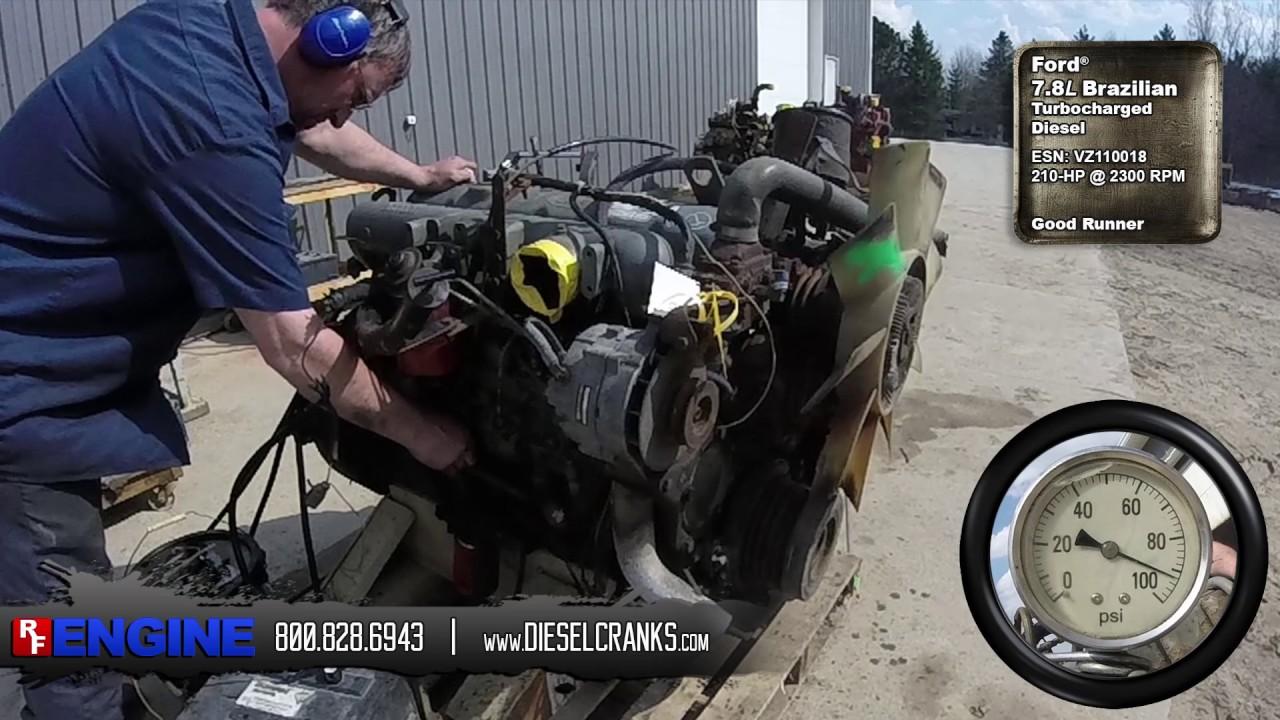 ford 7.8 diesel engine specs