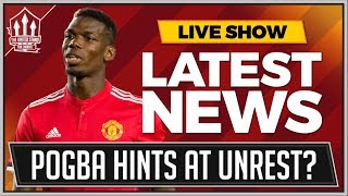 Pogba Hints At Man Utd Unrest? Manchester United Leicester Tactics Review