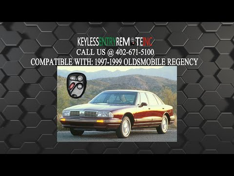 How To Replace Oldsmobile Regency Key Fob Battery 1997 1998 1999