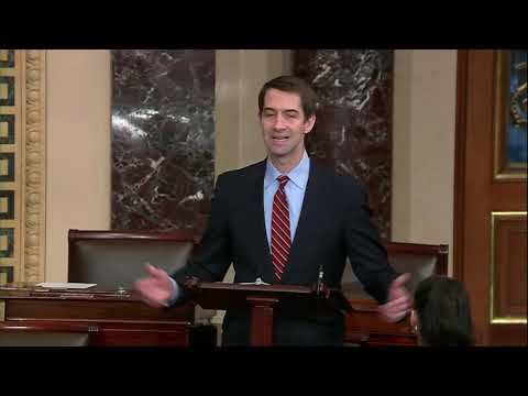 March 14, 2019: Senator Tom Cotton Speaks on Border Emergency