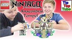 Lego Ninjago 70749 Tempel der Anacondrai Video Auspacken Aufbauen Spielen Spielzeug Kanal für Kinder