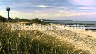 Stock Footage Europe Germany Baltic Sea Tower Mecklenburg National People´s Army Ostsee DDR GDR NVA