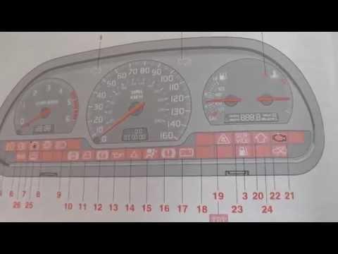 volvo s40 v40 dashboard warning lights symbols rh curvetube com Volvo 850 Indicator Lights 2004 Volvo S40 Warning Lights