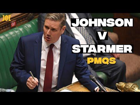 PMQs Boris Johnson