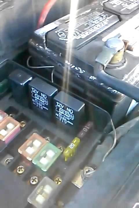 Radiator Fan  Relay  Cooling Fan Switch Not Working
