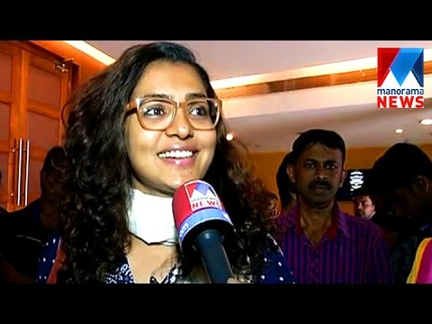 Parvathy for Take off first show  |...