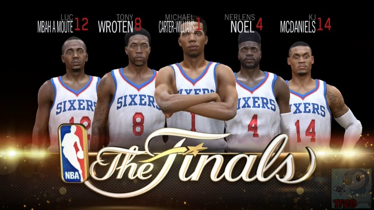 NBA Live 15 Finals Intro & Celebration - Philadelphia 76ers - YouTube