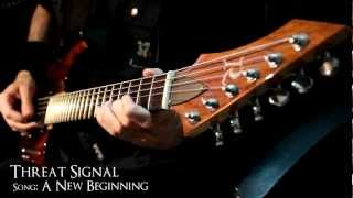 THREAT SIGNAL - A New Beginning - Instrumental Cover
