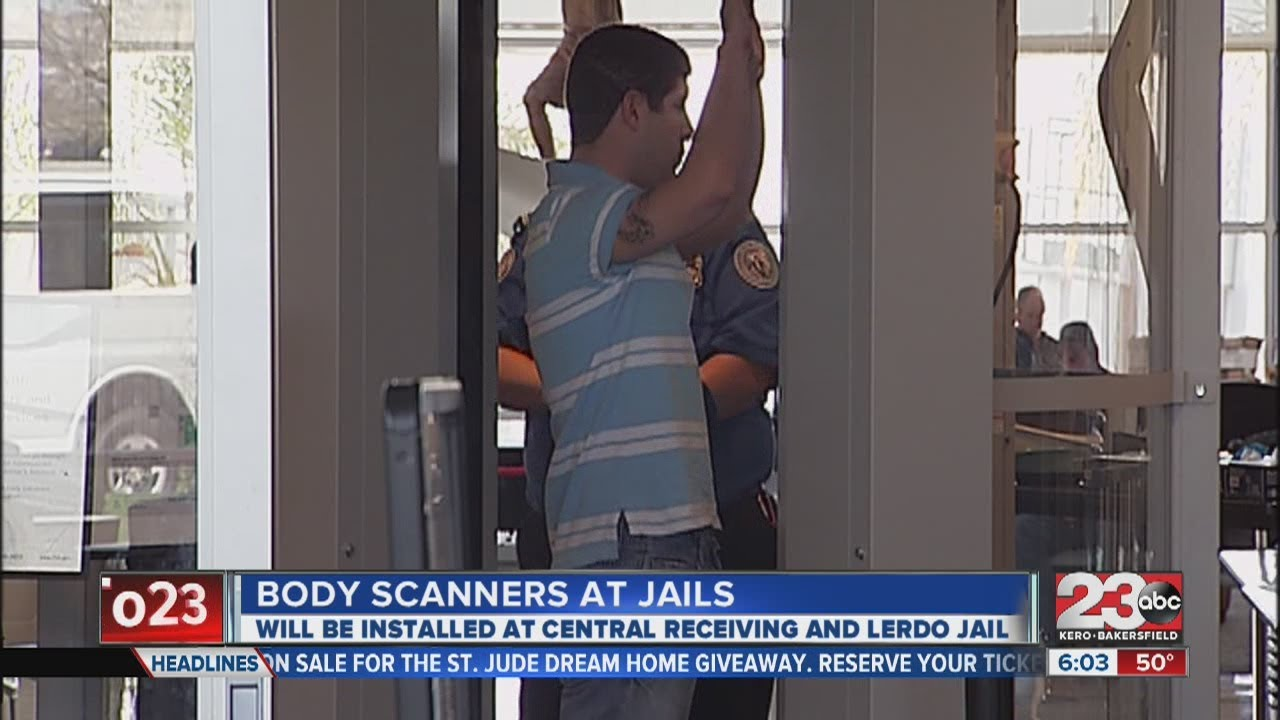 Body scanners to be in Kern County jails
