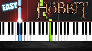 Misty Mountains - The Hobbit - EASY Piano Tutorial by PlutaX - Synthesia