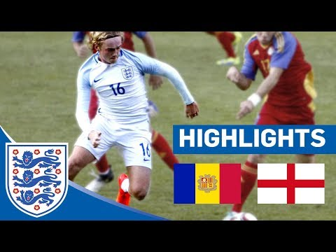 Great Glancing Header From Tom Davies with Stunning Assist | Andorra 0 - 1 England U21 | Highlights