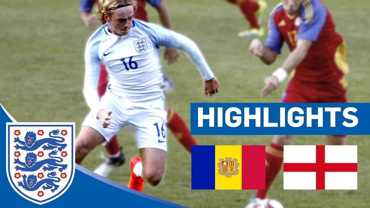 Андорра U-21 - Англия U-21 0:1 видео