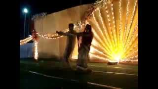 Dance at Indian Wedding Luk chip na jao ji...bollywood marriage dance