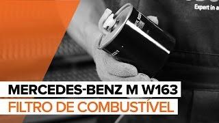 Como mudar Tambor de freio MERCEDES-BENZ M-CLASS (W163) - tutoriais