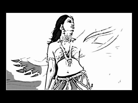 World Fastest Drawing Bahubali 2 Movie Tamanna ( Avantika ) Pictures - Bahubali Movie HD Videos