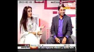 Bangladeshi Model Ruma with Dr  Shamim