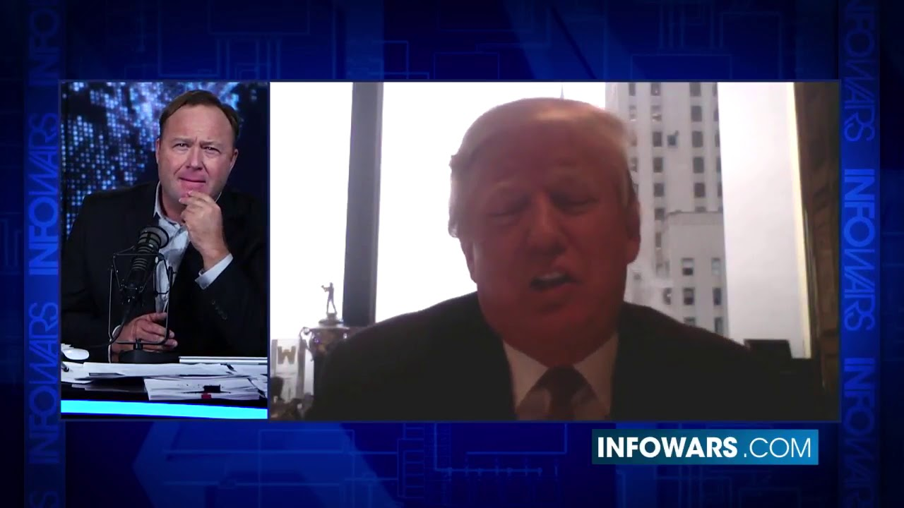 InfoWars: Alex Jones Interviews Donald Trump - December 2, 2015