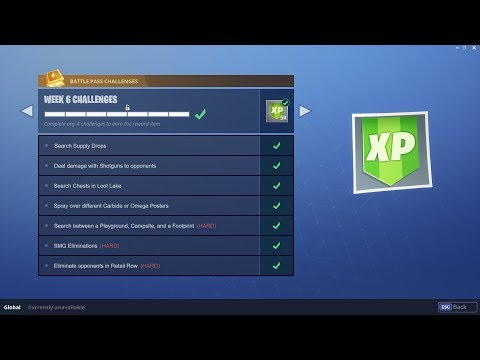 WEEK 6 CHALLENGES LEAKED!   Early Guide!   Fortnite Battle Royale