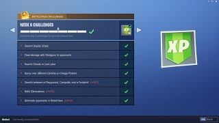 WEEK 6 CHALLENGES LEAKED! | Early Guide! | Fortnite Battle Royale