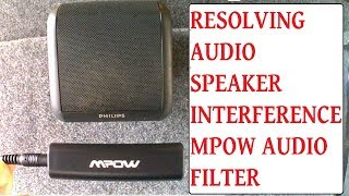 Fix Audio Interference From PC Laptop Phone Aux To Speakers - Stop Speakers Buzzing