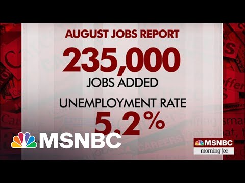 U.S. Economy Added 235,000 New Jobs In August