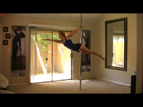 Online Pole Daning Lesson Learn The Superman Pole Dance Move For Beginners