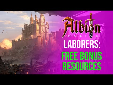 Albion Online: Laborers Beginner Guide