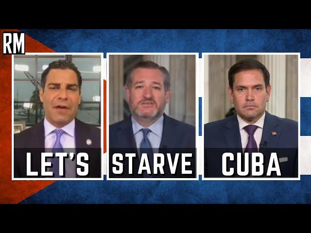 Republicans Call Biden a Communist for Not Starving Cuba Even More