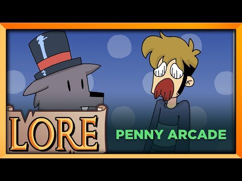 PENNY ARCADE: From Comics to Conventions   LORE in a Minute!   PAX History   eXtine