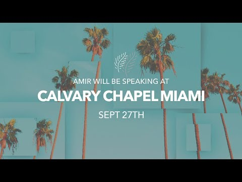Amir's Prophecy Update from Miami, Florida, Sept. 27, 2017.
