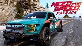Need for Speed Payback UPDATE PL - FORD F150 Faith Jones - ZAGINIONE AUTA