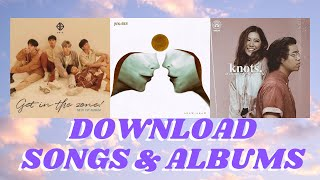 HOW & WHERE TO DOWNLOAD SONG ALBUMS #3 (TATAK OPM)
