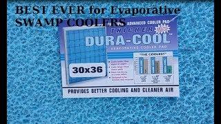 Evaporative Swamp Cooler DIY making it run colder (parts used below)
