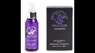 Review Beverly Hills Polo Club Champion & Comparison Tom Ford Black Orchid