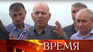 Очень эмоциональным было включение из дагестанского Ботлиха, откуда на связь вышли бывшие ополченцы.