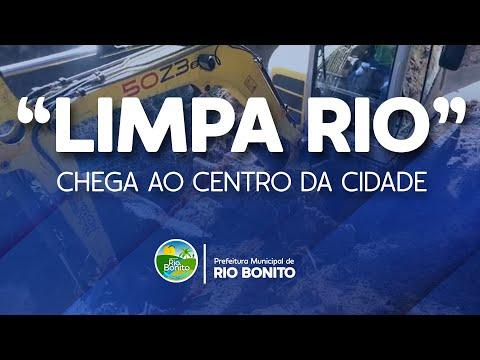 """""""LIMPA RIO"""" CHEGA AO CENTRO DA CIDADE"""