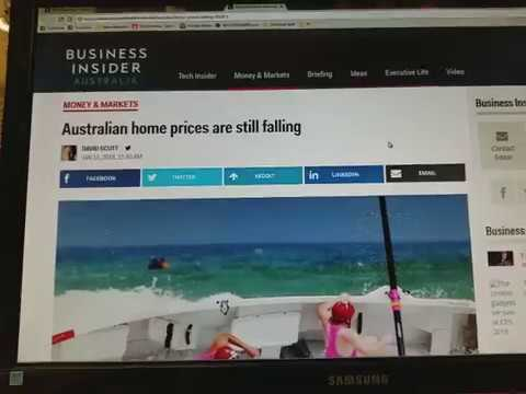 Australian home prices are still falling