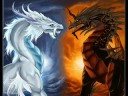 Fire And Ice Dragons