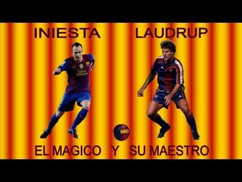 Iniesta y Laudrup - El Magico y su Maestro (HD)