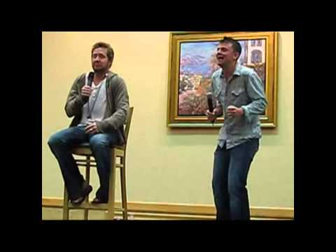 Ghostfacers from Supernatural at Eyecon convention 2008