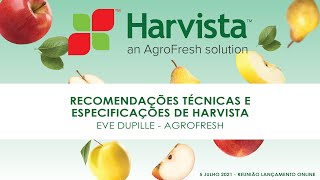 Lançamento Harvista - Eve Dupille AGROFRESH