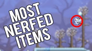 Top 5 Nerfed items in Terraria
